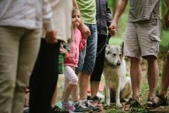 Letnice 2017 bohoslužba v lese